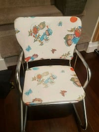 Vintage 1970's Child's Rocking Chair Maple Ridge