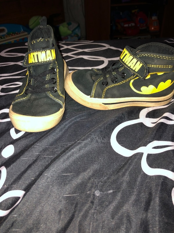 4bcca89f9383 Used Toddler Batman Converse size 8c for sale in Conover - letgo