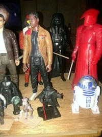 These are Star War figures some of them 12 inches  Hickory, 28601