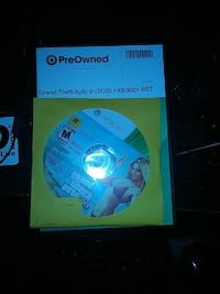 Grand Theft Auto V Xbox 360 game disc Dundee, 48131