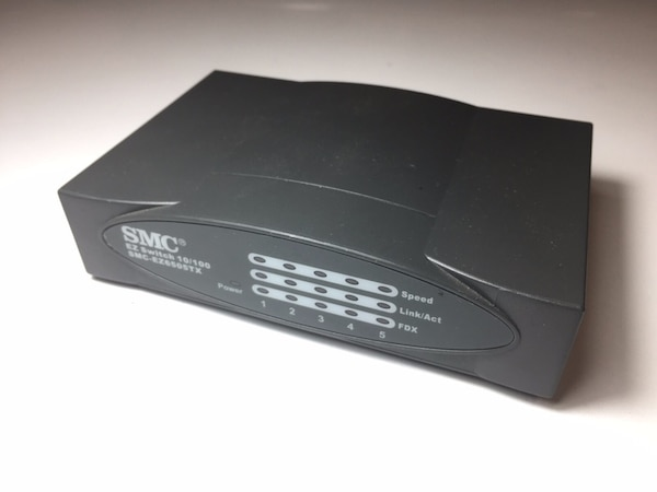 SMC EZ Switch SMC-EZ6505TX - switch - 5 ports