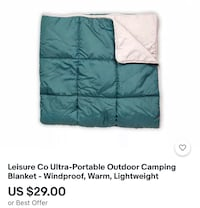 Leisure Co Ultra-Portable Outdoor Camping Blanket North Charleston, 29420