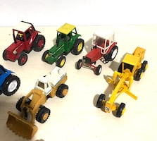 Farm Machine Die Cast Metal Cars In 1/43 Scale! By different makers