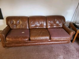 Free sofa- you haul it! (Wood village)