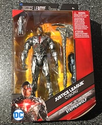 Cyborg 6 inch action figure justice league dc multiverse with steppenwolf build a figure piece