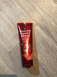 Brand New Bath And Body Works Body Cream - Winter Candy Apple