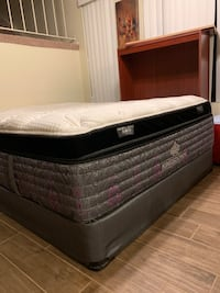 White and black bed mattress Huntington Beach, 92648