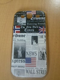 black and gray Samsung Galaxy Note 3 case