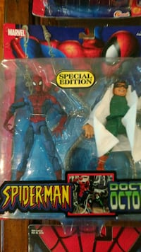 Spiderman figures..make offer Brampton, L6Y 1C8