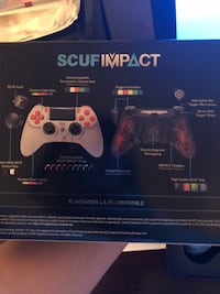 PS4 SCUF IMPACT CONTROLLER