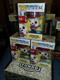 Peter Pez exclusive funko pops $50 EACH (FIRM PRI Toronto, M1L 2T3