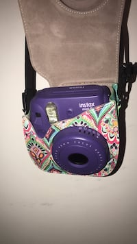 Purple Polaroid and case  Arlington, 22207