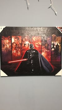 Star Wars canvas painting (poster)