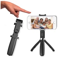 Brand New In Box  3 in 1 Wireless Selfie Stick Compatible iPhone 8 X 7 6s Plus Foldable Handheld Monopod Shutter Remote Extendable Mini Tripod Hayward, 94544
