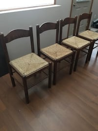 **MOVING SALE** 4 Kitchen Wooden Chairs Calgary, T3K 0H9