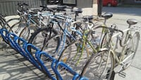 blue and gray road bikes Montréal, H1Y 2X2