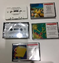 Lot of 5 Vintage Scholastic Kid's  Cassette Tapes Reading Literacy Bloomfield Hills, 48301