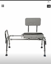 NEW!!! duro-med heavy-duty sliding transfer bench shower chair  Lonoke, 72086