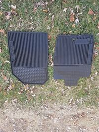 Ford Fusion factory rubber floor mats