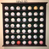 """18"""" GOLF BALL RACK with or w/o balls"""