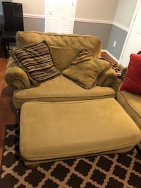 Couch and Ottoman. Best offer.