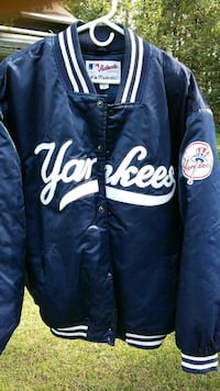 NY YANKEES QUILTED LETTERMAN JACKET ; Nazareth, 18064