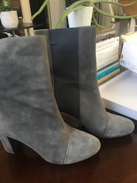 'See by Chloe' grey suede booties (size 9) Toronto, M5R
