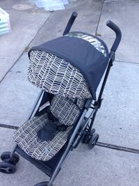 black and gray plaid stroller Houston, 77057