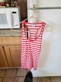pink and white stripe tank top Circleville, 43113