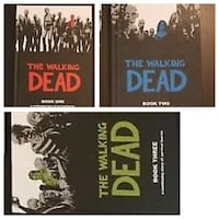Walking dead books 1-3 Calgary, T2E 5V6