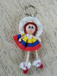 Keychain from Colombia
