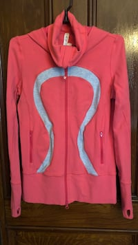 red and blue zip-up jacket Smith-Ennismore-Lakefield, K0L
