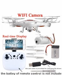 2019 New Wifi FPV Quadcopter Drone **3 LEFT*( $40 EACH)