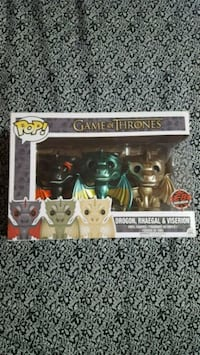 Pop Funko Game of Thrones 3 Pack Dragons Toronto, M4A 1L3