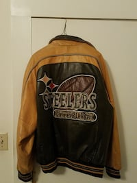 PITTSBURGH STEELERS LEATHER JACKET  Old Forge, 18518