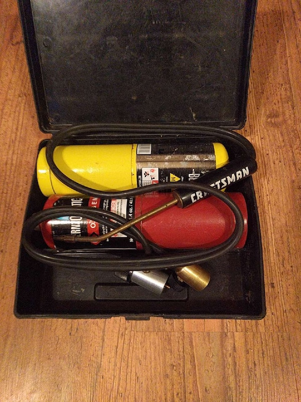 Craftsman O2/MAPP gas torch outfit