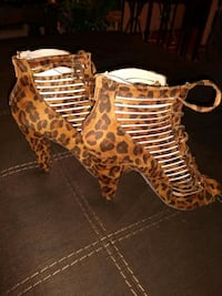 Animal print shoes size 8 , 9 , 10 available