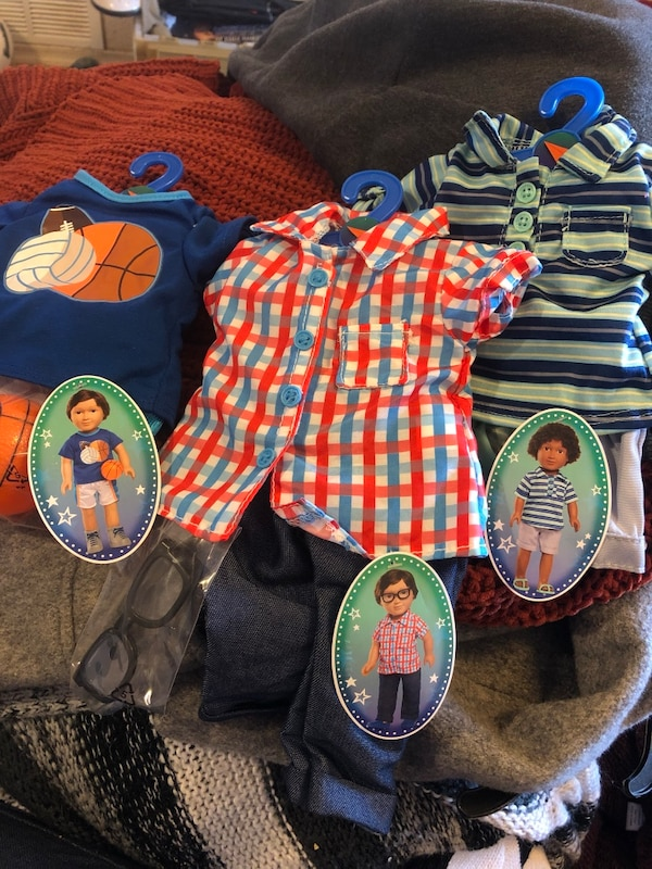 "2d42d01a27 ""My Life"" doll boy outfits"