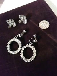 2  pair vintage  earrings Antioch, 60002