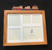 Wooden Train Picture Frame Sterling, 20166