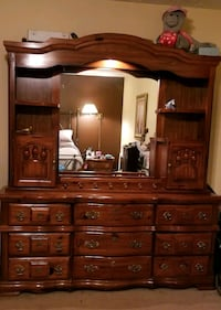 5-piece Solid Wood Bedroom Set Washington, 20001