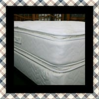 Twin mattress double pillowtop with box spring Beltsville