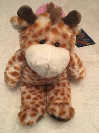 Super soft plush giraffe toy - New with tag