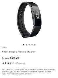 Fitbit inspire Beverly, 01915
