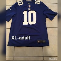 blue and white NFL jersey Brownsville, 78521