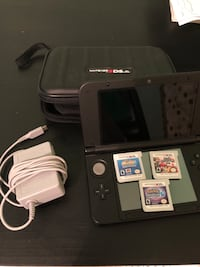 Nintendo 3ds xl ( comes with 3 games, charger, but no pen) Fairfax, 22033