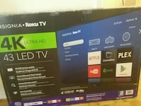 black Vizio flat screen TV box Etobicoke, M9R