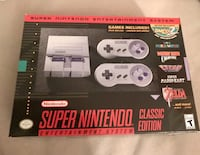 Snes classic Sterling, 20166