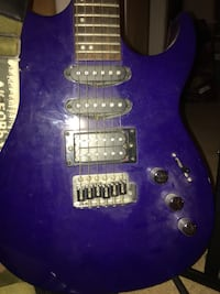Blue Electric Guitar The Nation / La Nation, K0A 2M0