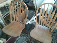 Set of 2 Old Chairs... $75